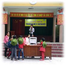 Hệ thống giáo dục Chất lượng cao Nguyễn Bỉnh Khiêm phát động phong trào tình nguyện