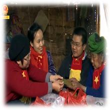 Phóng sự Tết ấm biên cương 2016, bản Buốt, Sơn La – TH Quốc hội