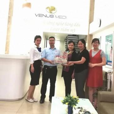 Mở hòm tình nguyện VENUS MEDI – 2018