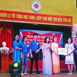 Tiếp nhận kinh phí XTCE của Trường Nguyễn Bỉnh Khiêm – 2018